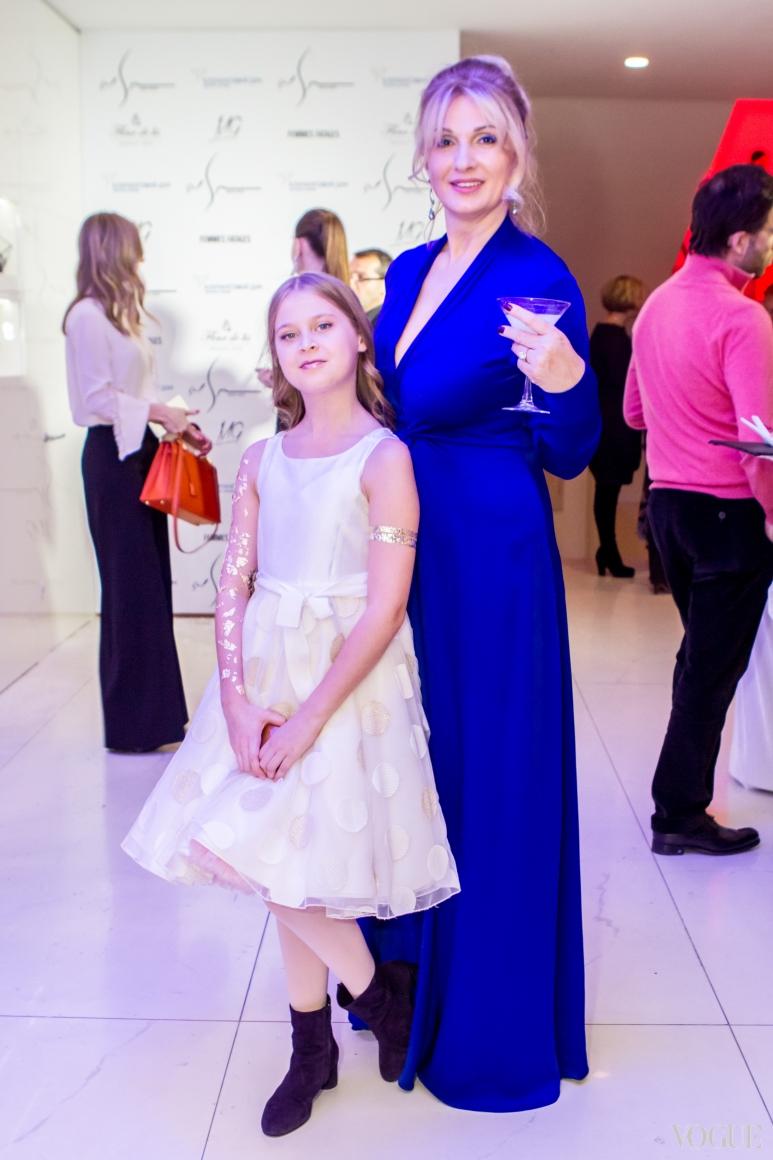 Оксана Лысова с дочерью