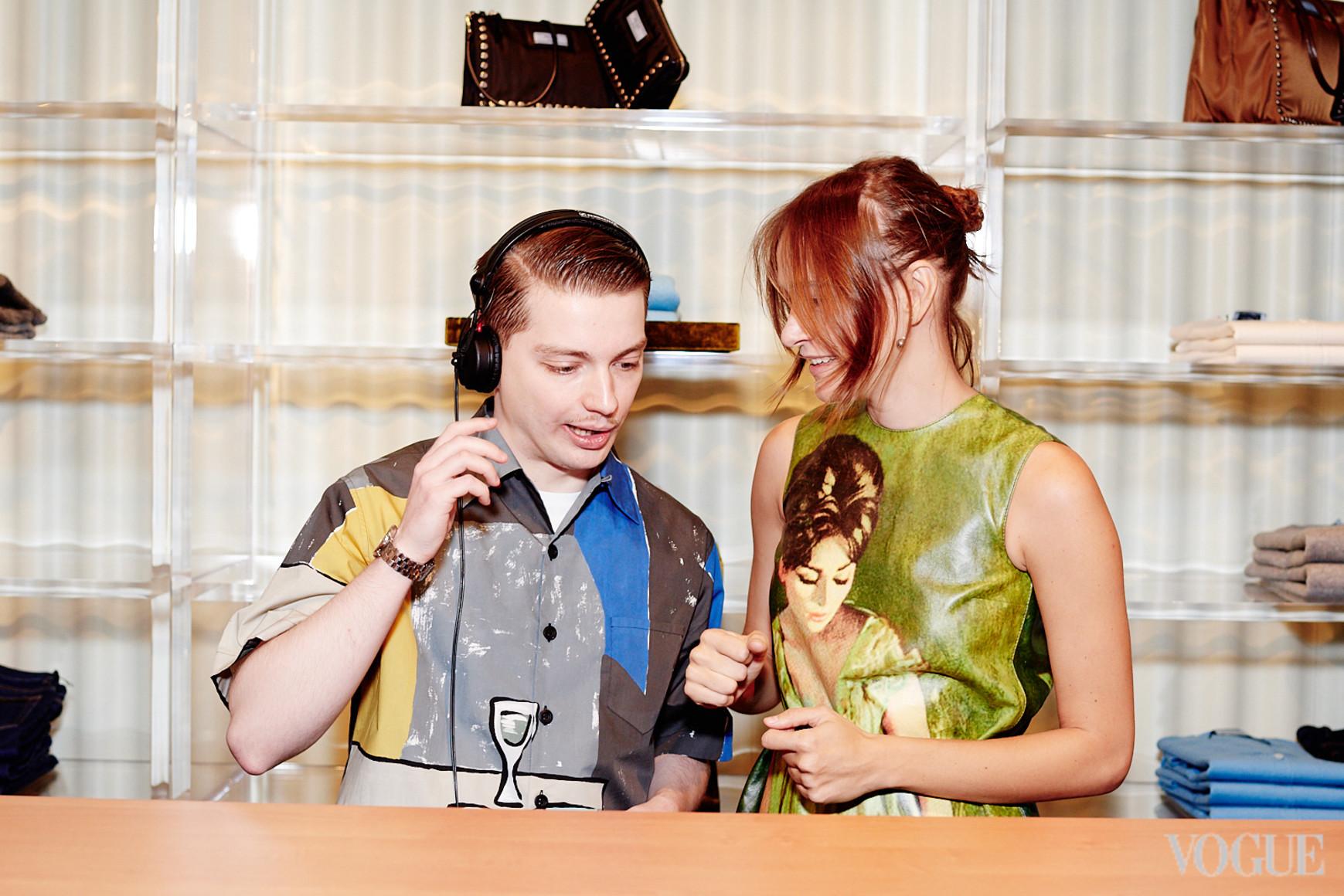 Филипп Маркович и Надя Шаповал