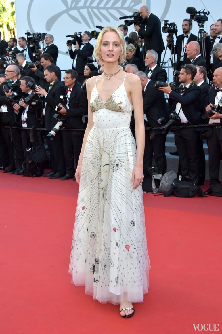 Дарья Строкоус в Christian Dior