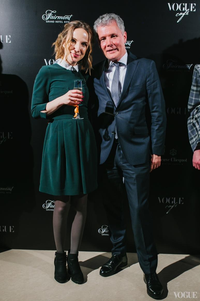 Елена Древецкая и Франк Тиман