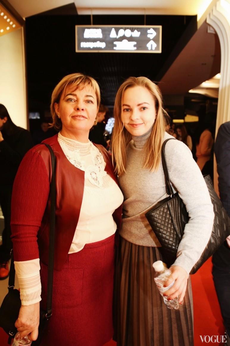 Ирина Малашенко и Наталья Лавринович