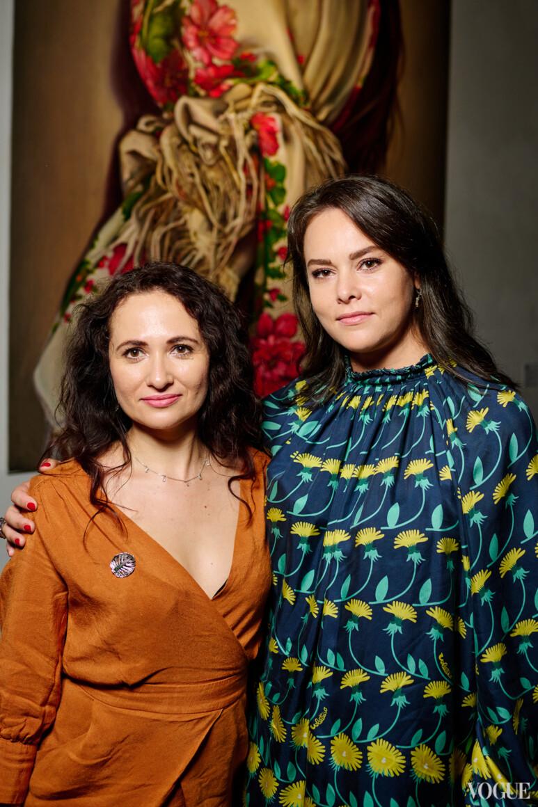 Тамара Картозия (слева)