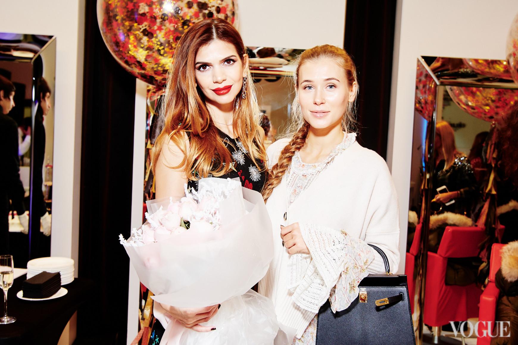 Алина Алиева и Анастасия Пилипишина