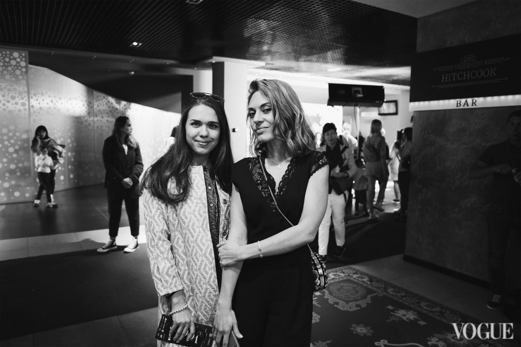 Анастасія Заря і Олександра Новікова