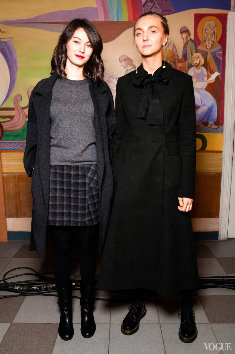 Екатерина Горина и Ксения шнайдер