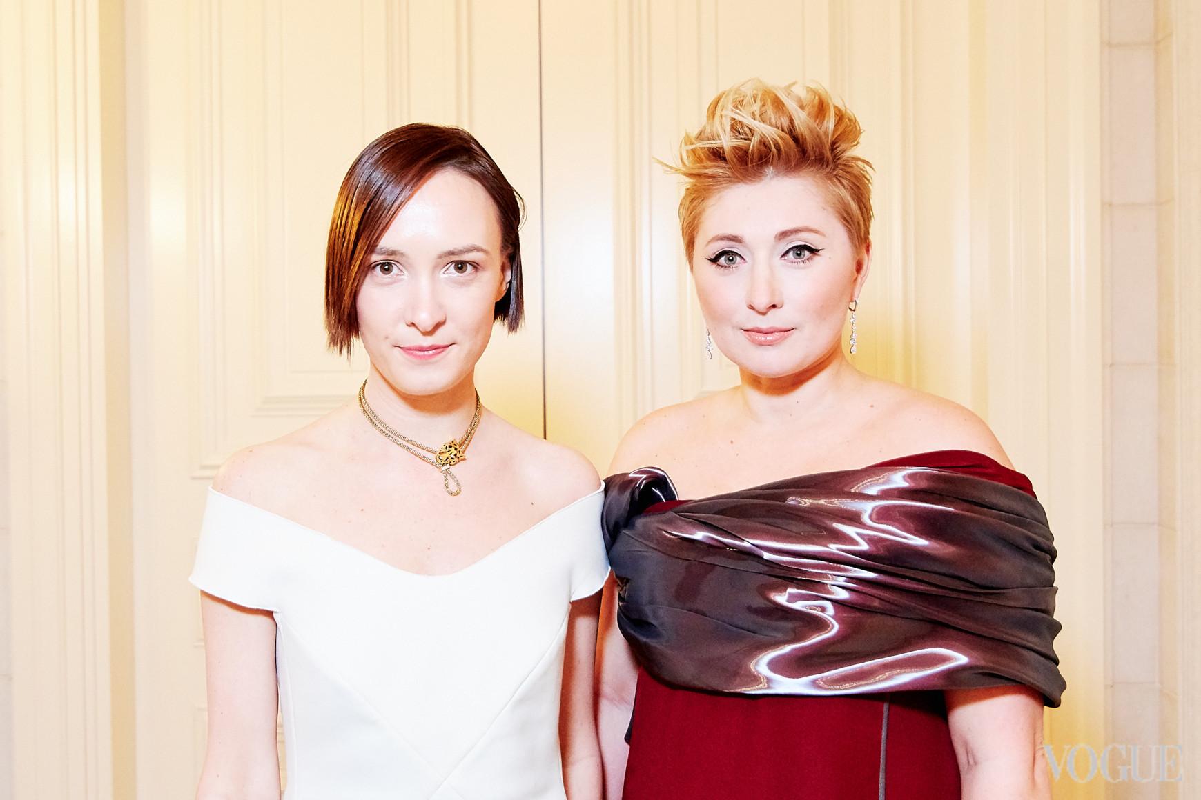 Ольга Сушко и Виктория Тигипко