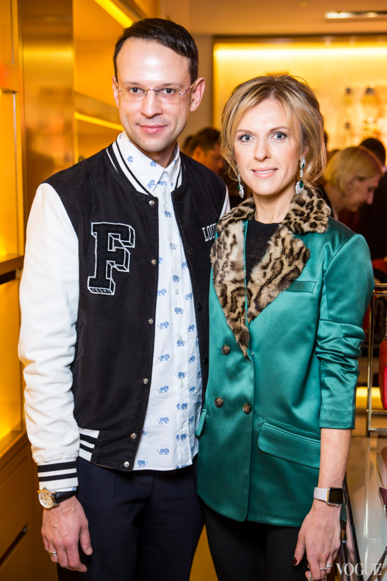 Павел Орлов и Юлия Костецкая