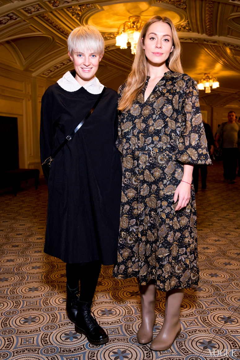 Анна Копылова и Анастасия Степула