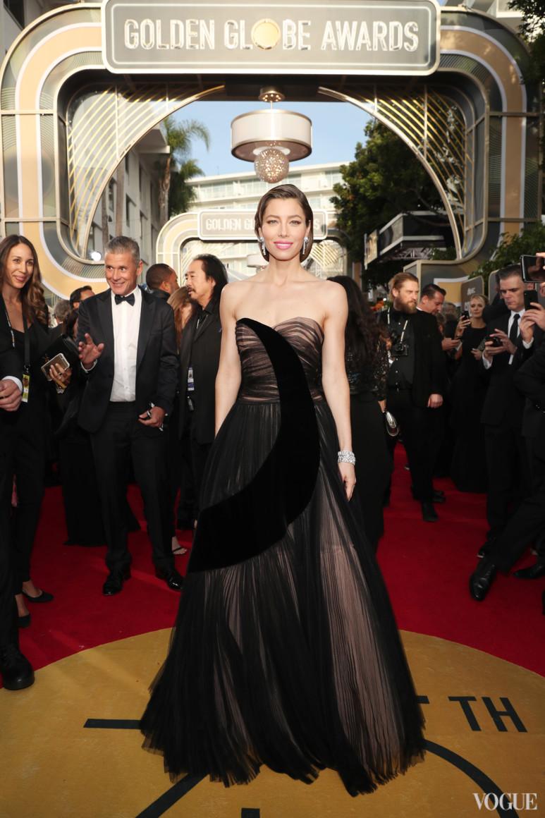 Джессика Билл в Dior Haute Couture