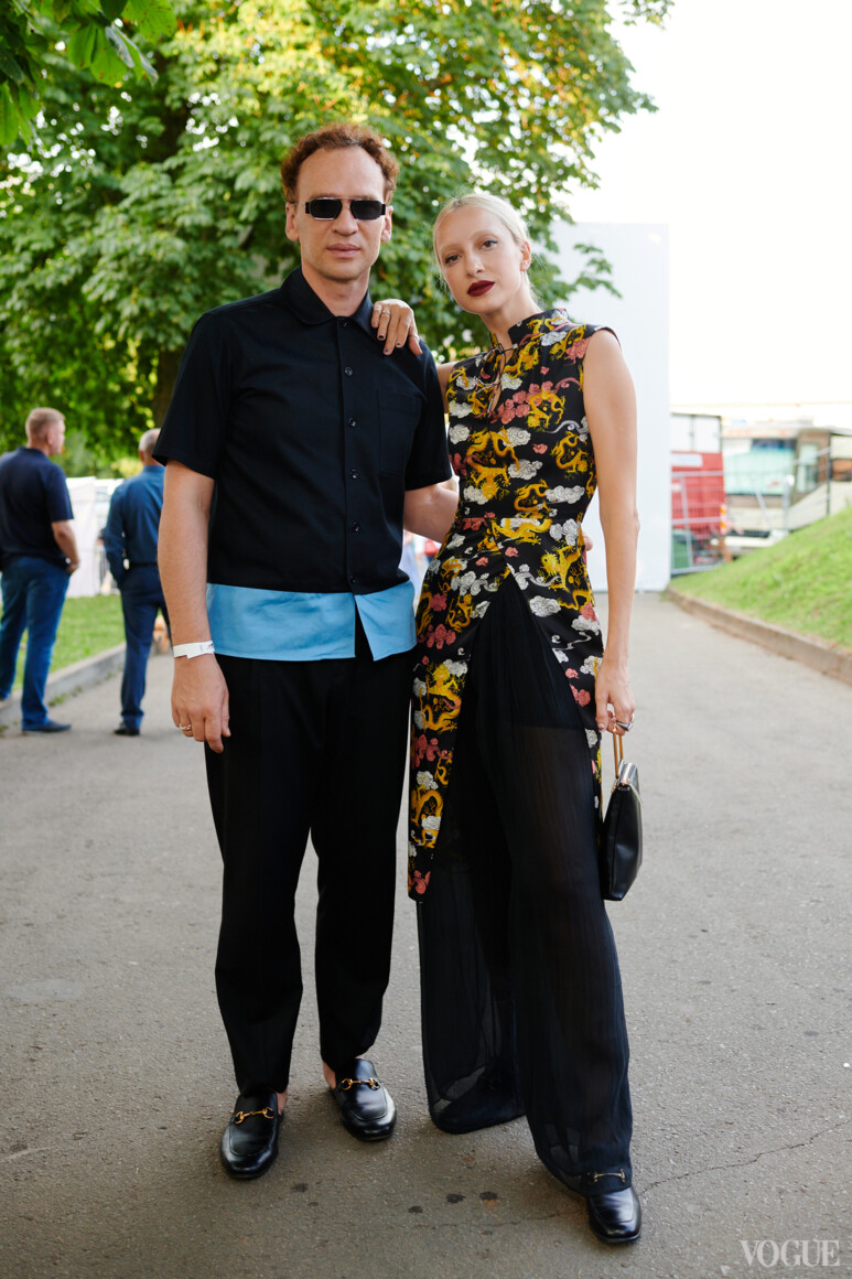 Александр Смирнов и Олимпия Вайтмусташ