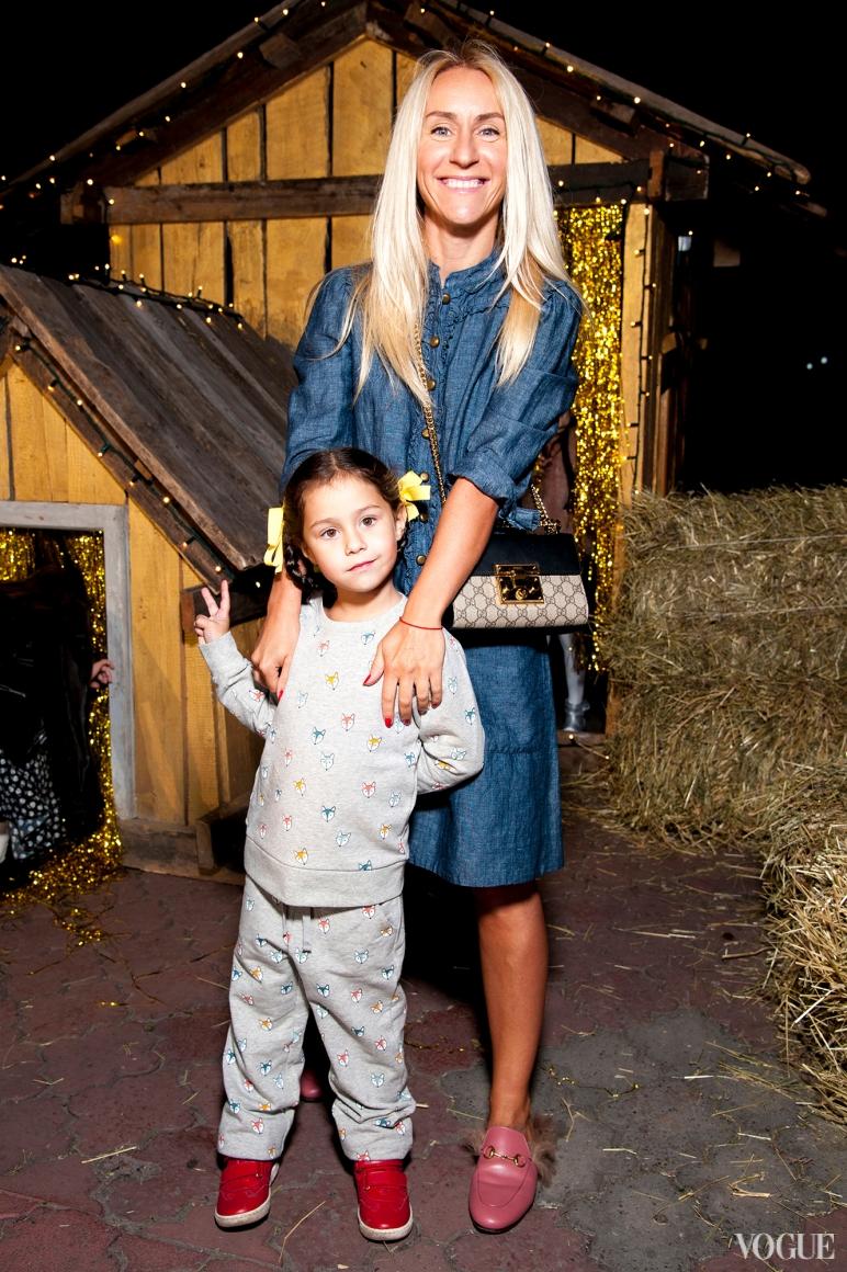 Ольга Буяновская с дочкой