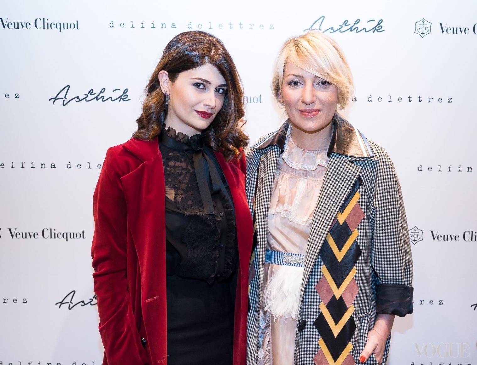 Нина Васадзе и Ася Мхитарян