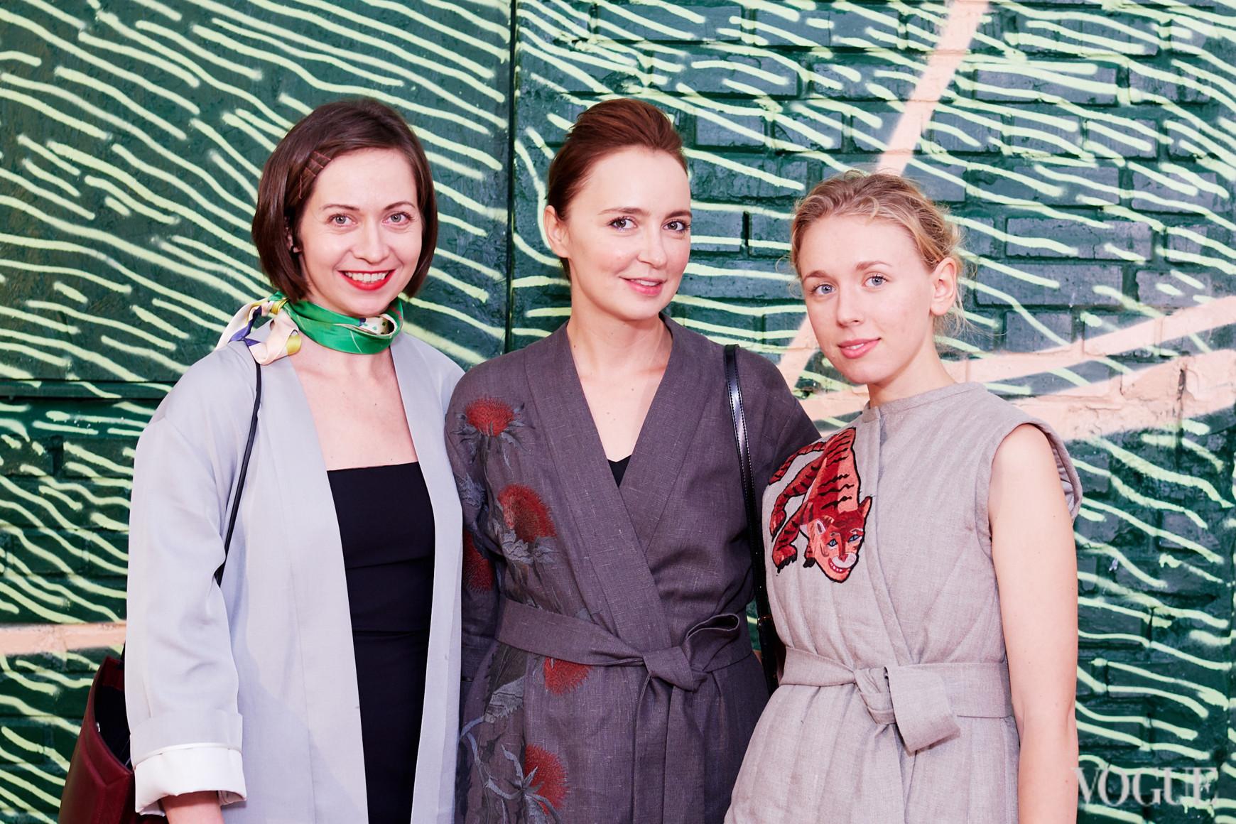 Олеся Кононова, Анастасия Рябоконь и Мария Гаврилюк