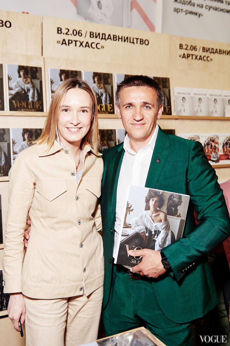 Ольга Сушко и Игорь Абрамович
