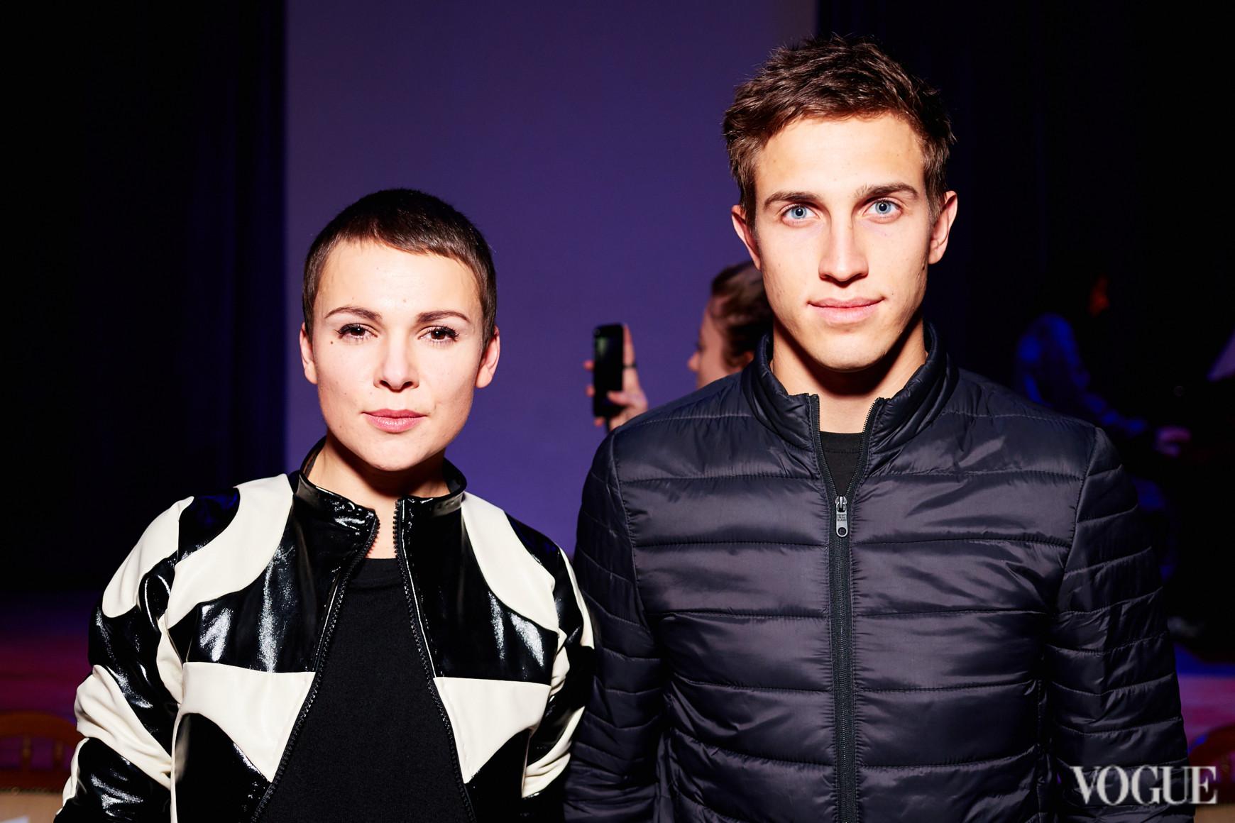 Катя Березницкая и Виктор Меленевский