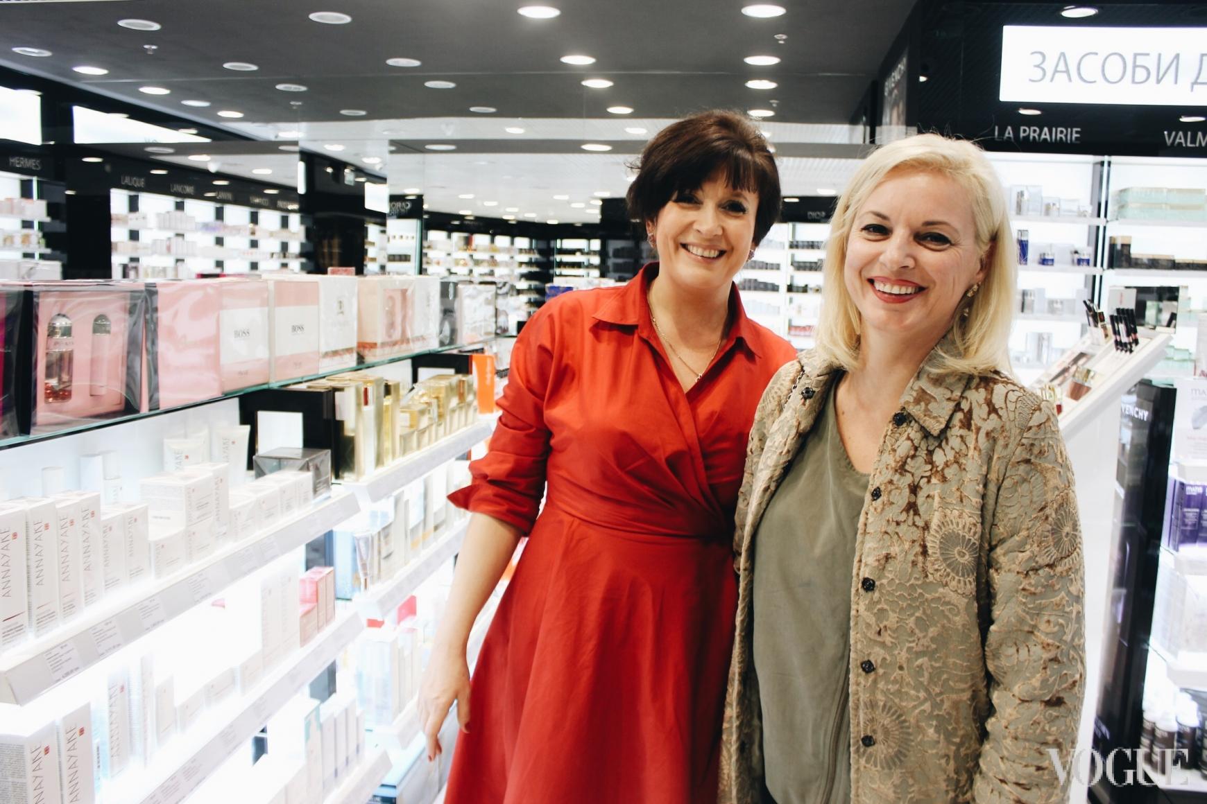 Жанна Яремчук (справа)