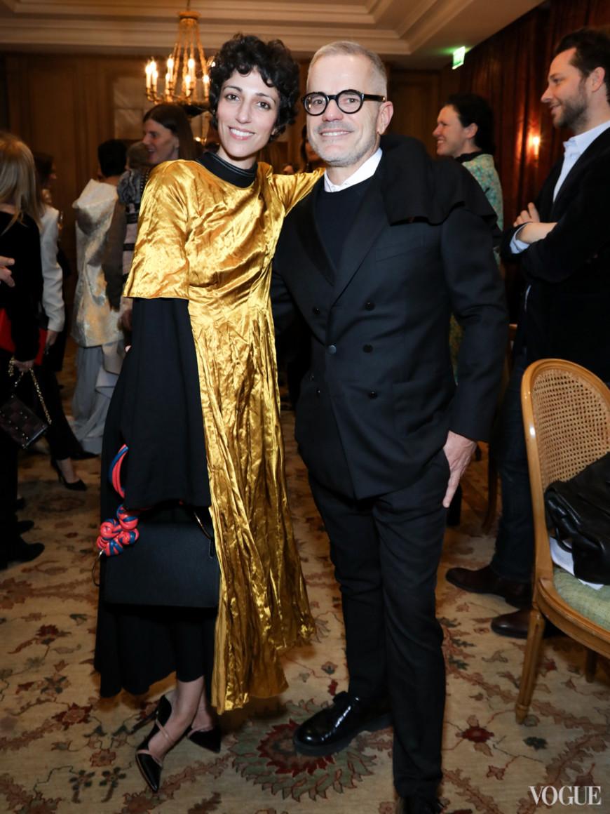 Ясмин Севел и Джованни Бьянко