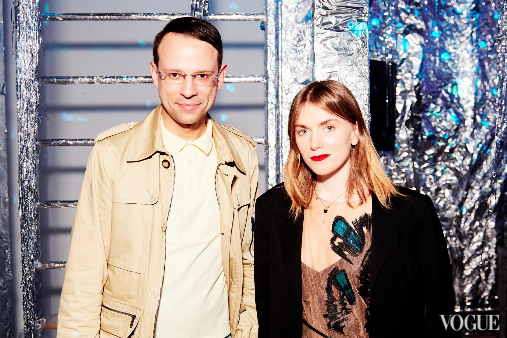 Павел Орлов и Лиля Литковская