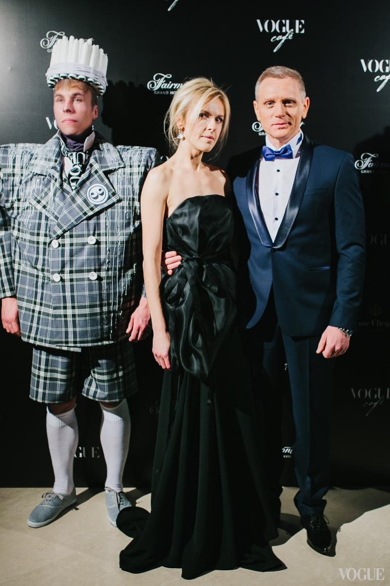 Юлия Костецкая и Юрий Сугак