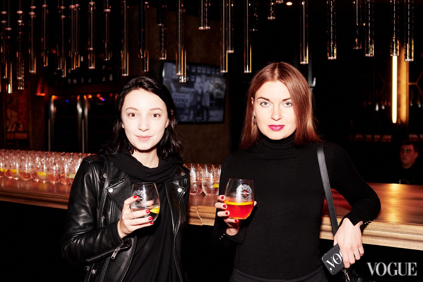 Анна Кравинская и Елена Добрынская