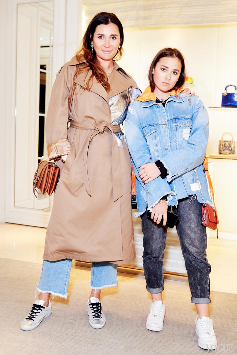 Ольга Филатова с дочерью