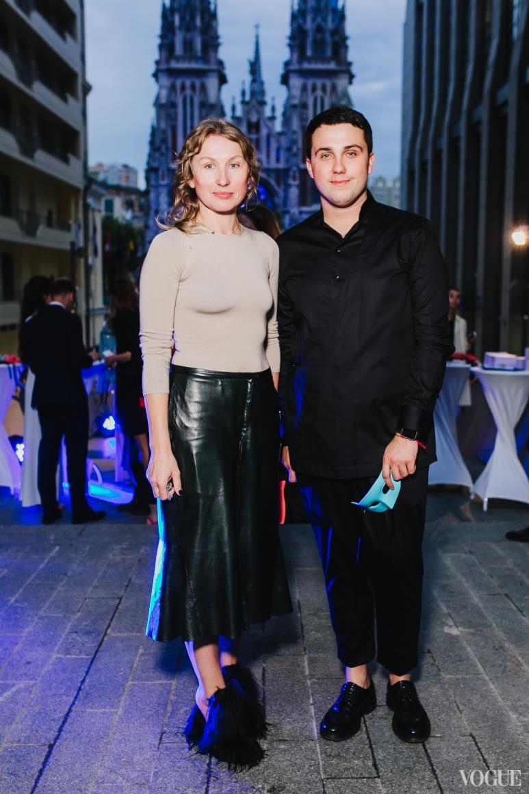 Ольга Козловская и Дмитрий  Глущак