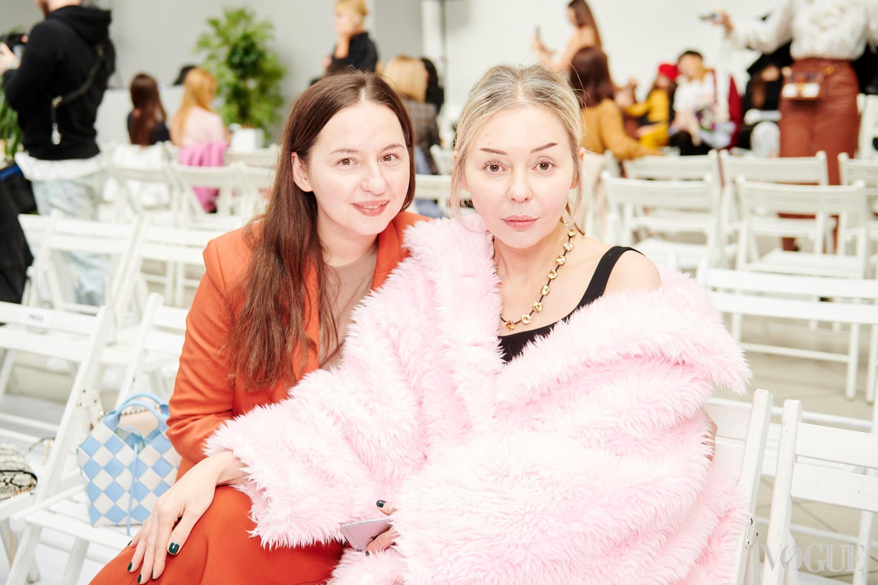 Виолетта Федорова и Оксана Берг