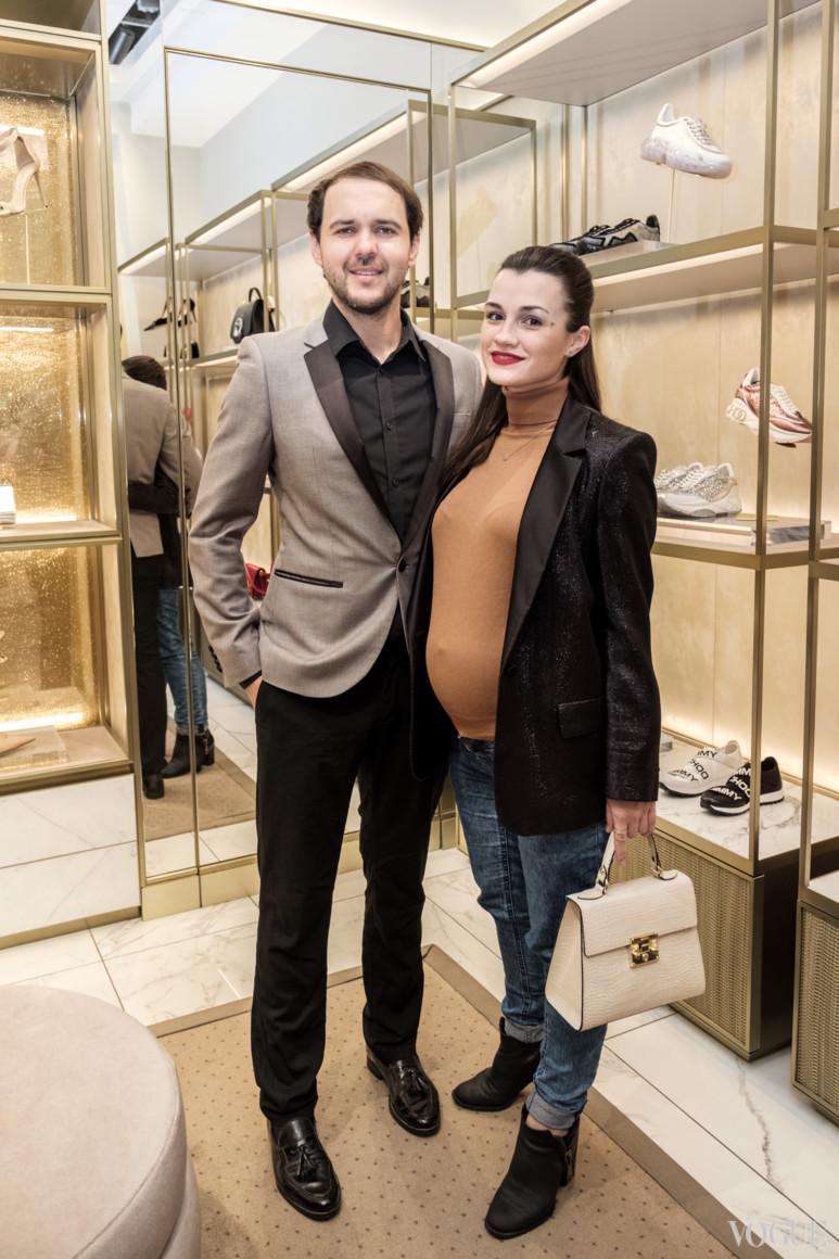 Виктор Демчук с супругой