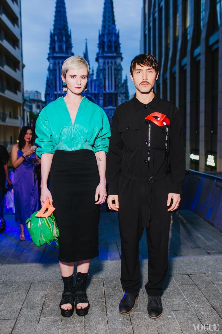 Ольга Януль и Тео Декан