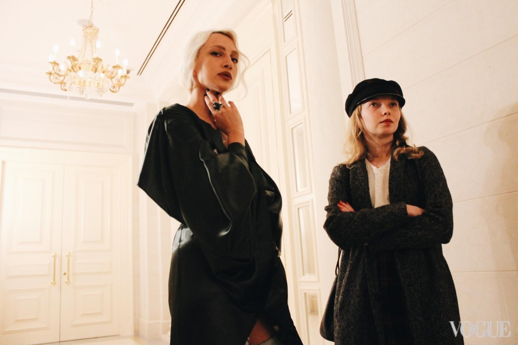 Олимпия Вайтмусташ и Виктория Семерей