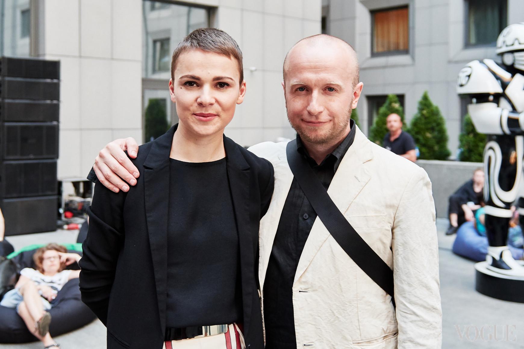 Катя и Евгений Березницкие