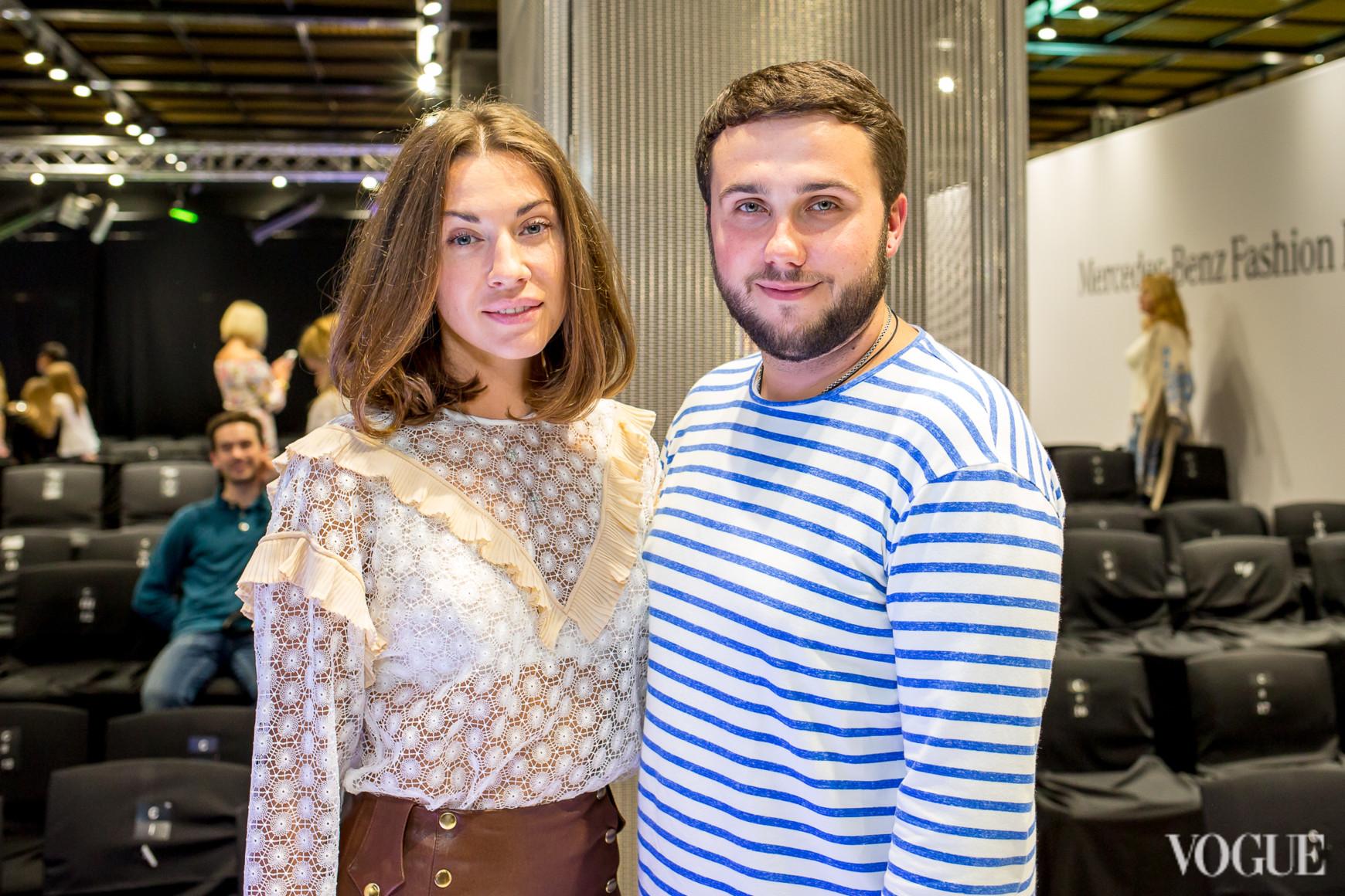 Марта Земскова и Дмитрий Глущак