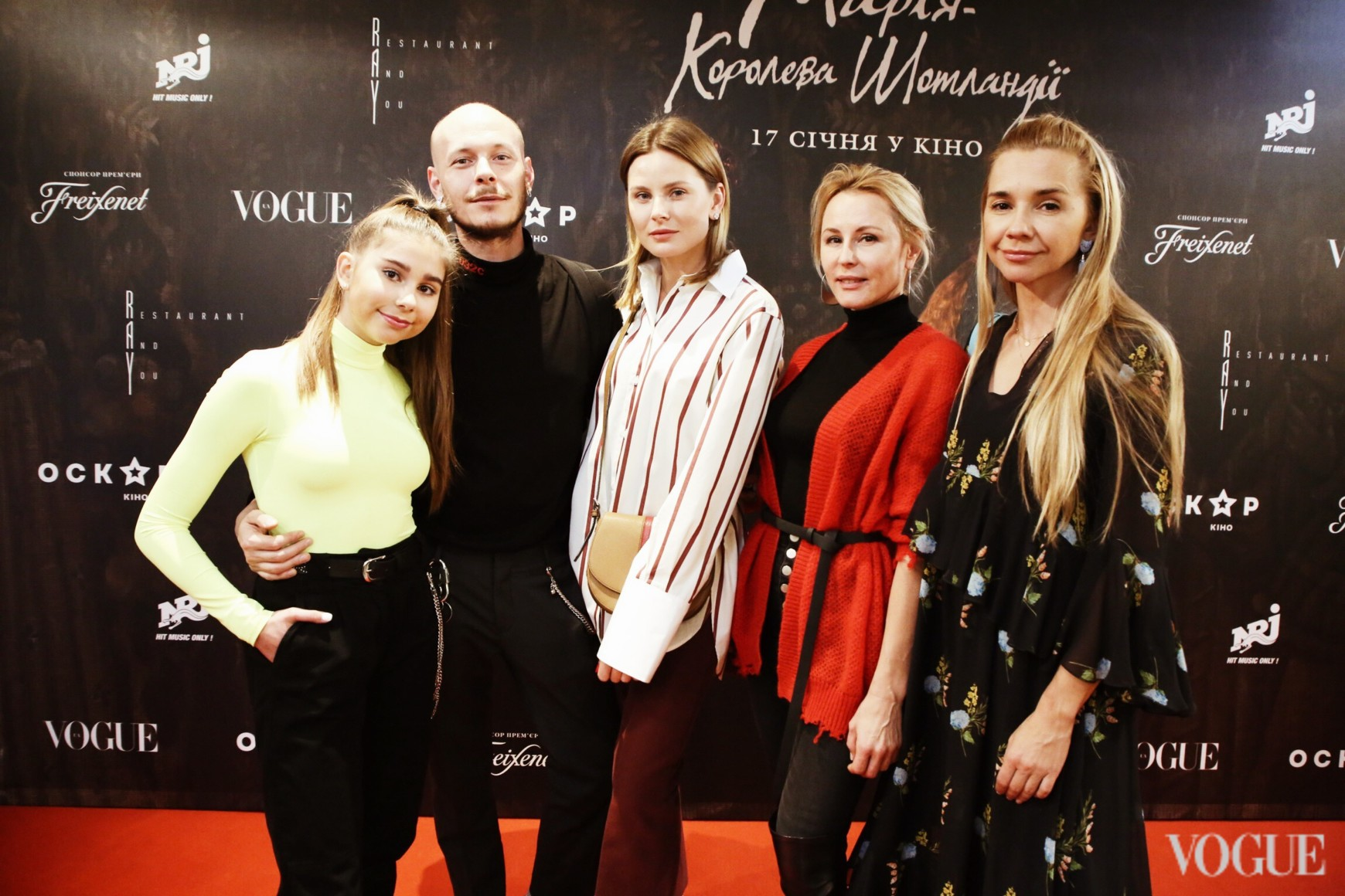 Максим Некрасов, Александра Олейник, Елена Примак и Ирина Турбаевская