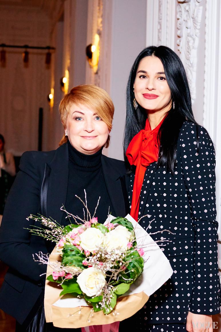Ирина Данилевская и Маша Ефросинина