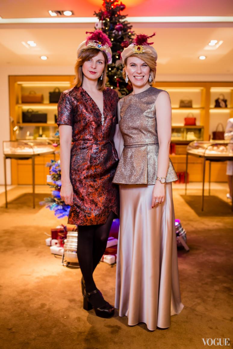 Екатерина Кулик и Наталья Листопад