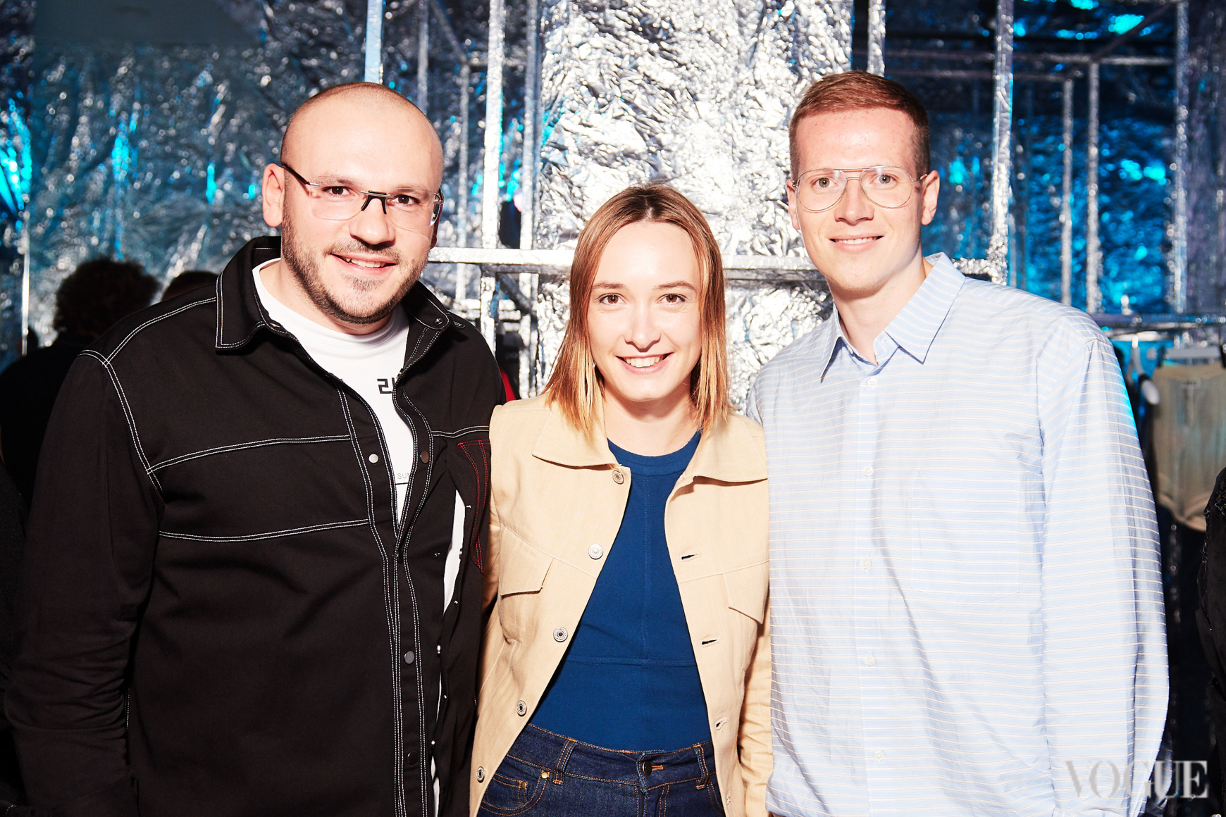 Дмитрий Евенко, Ольга Сушко и Веня Брыкалин