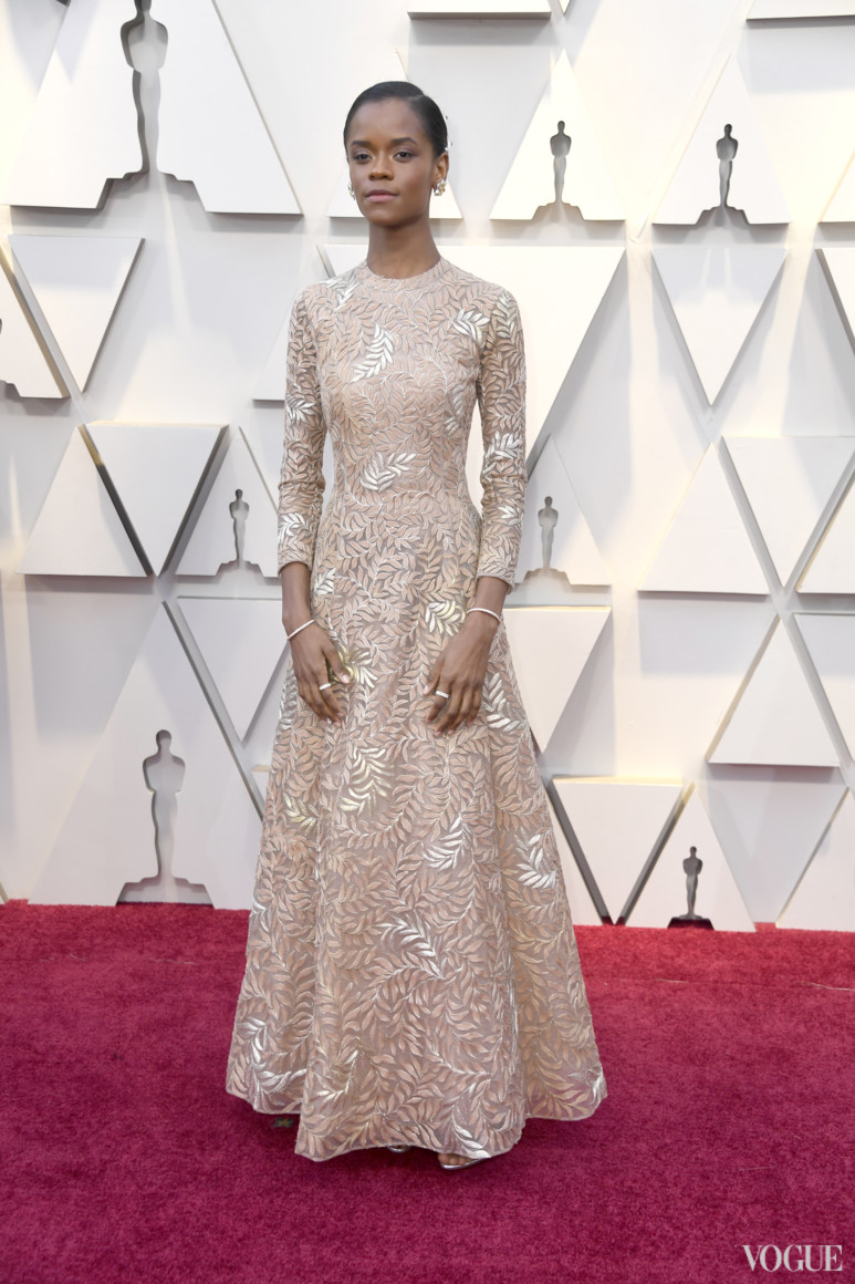 Летиша Райт в Dior Haute Couture