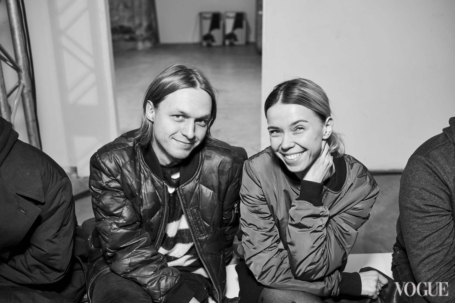 Евгений Примаченко и Марина Сандугей