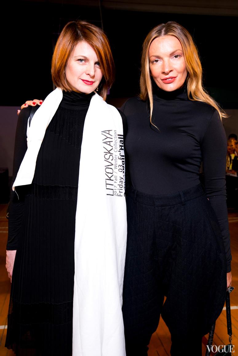 Катя Кулик и Полина Неня