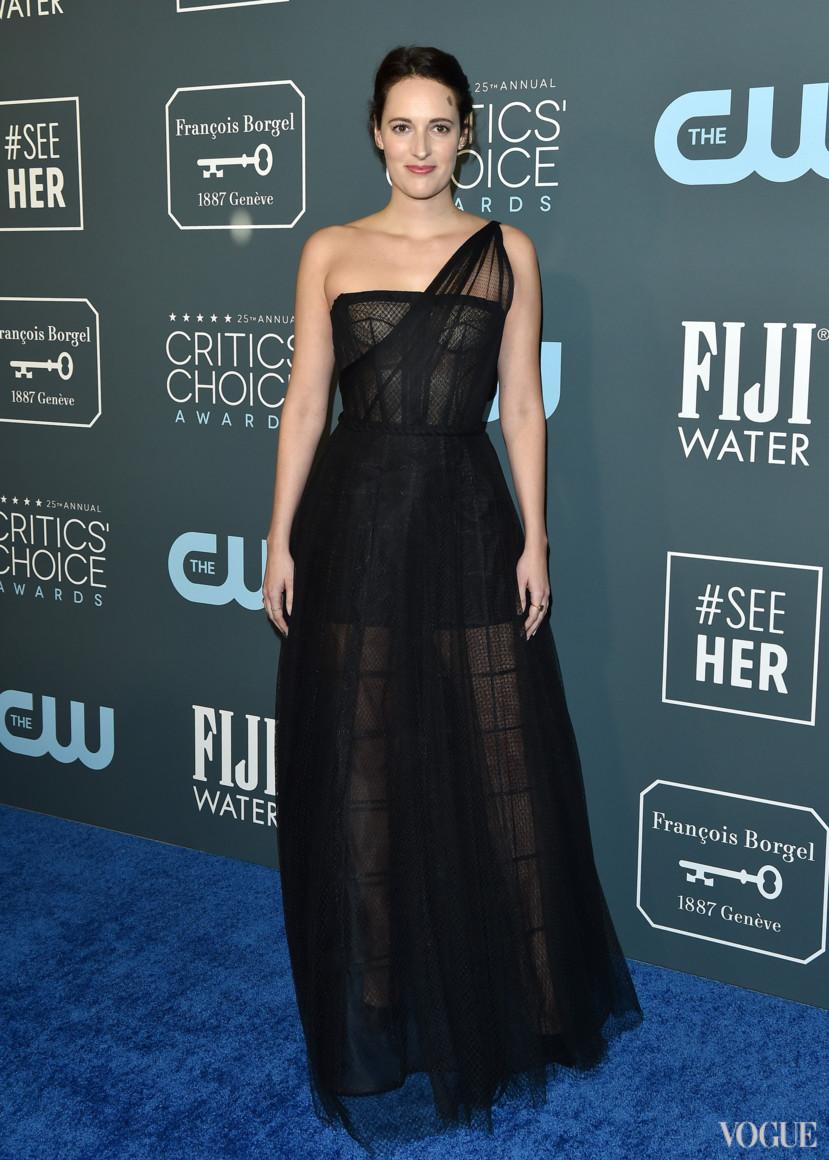 Фиби Уоллер-Бридж в Dior Haute Couture