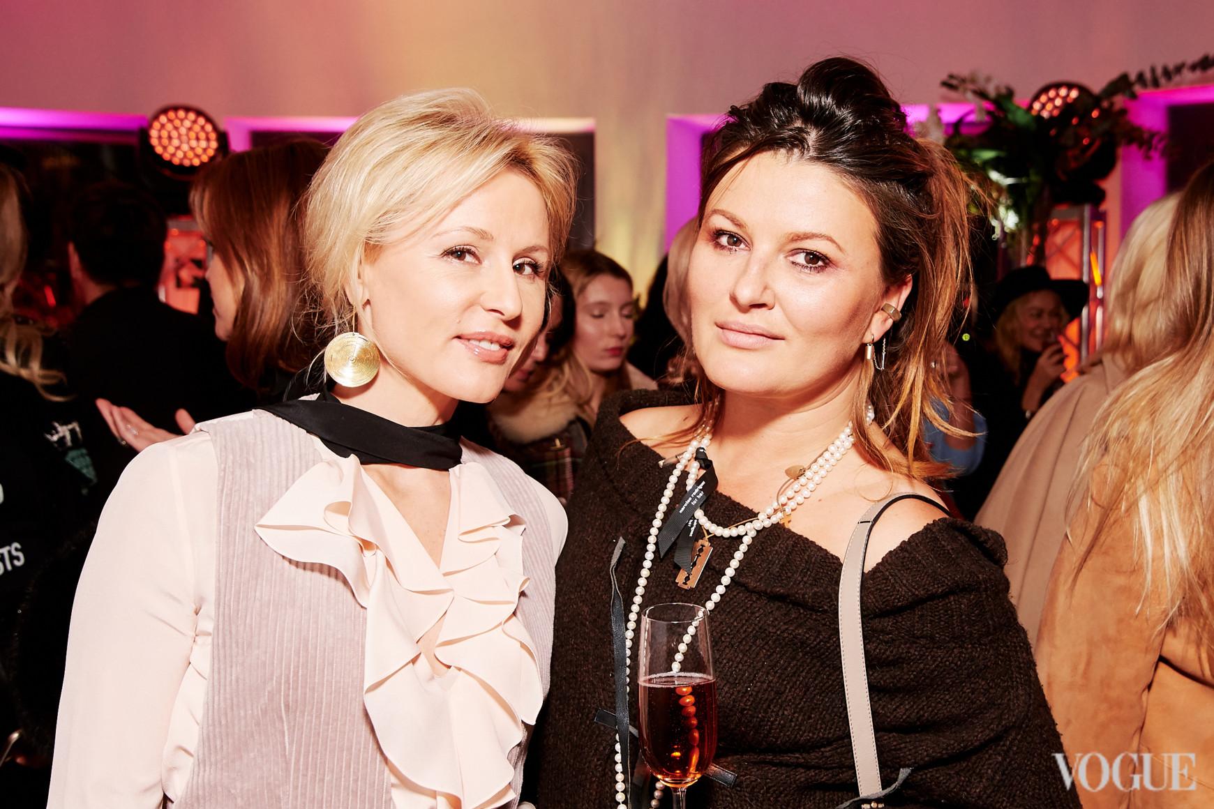 Елена Примак и Маша Шубина