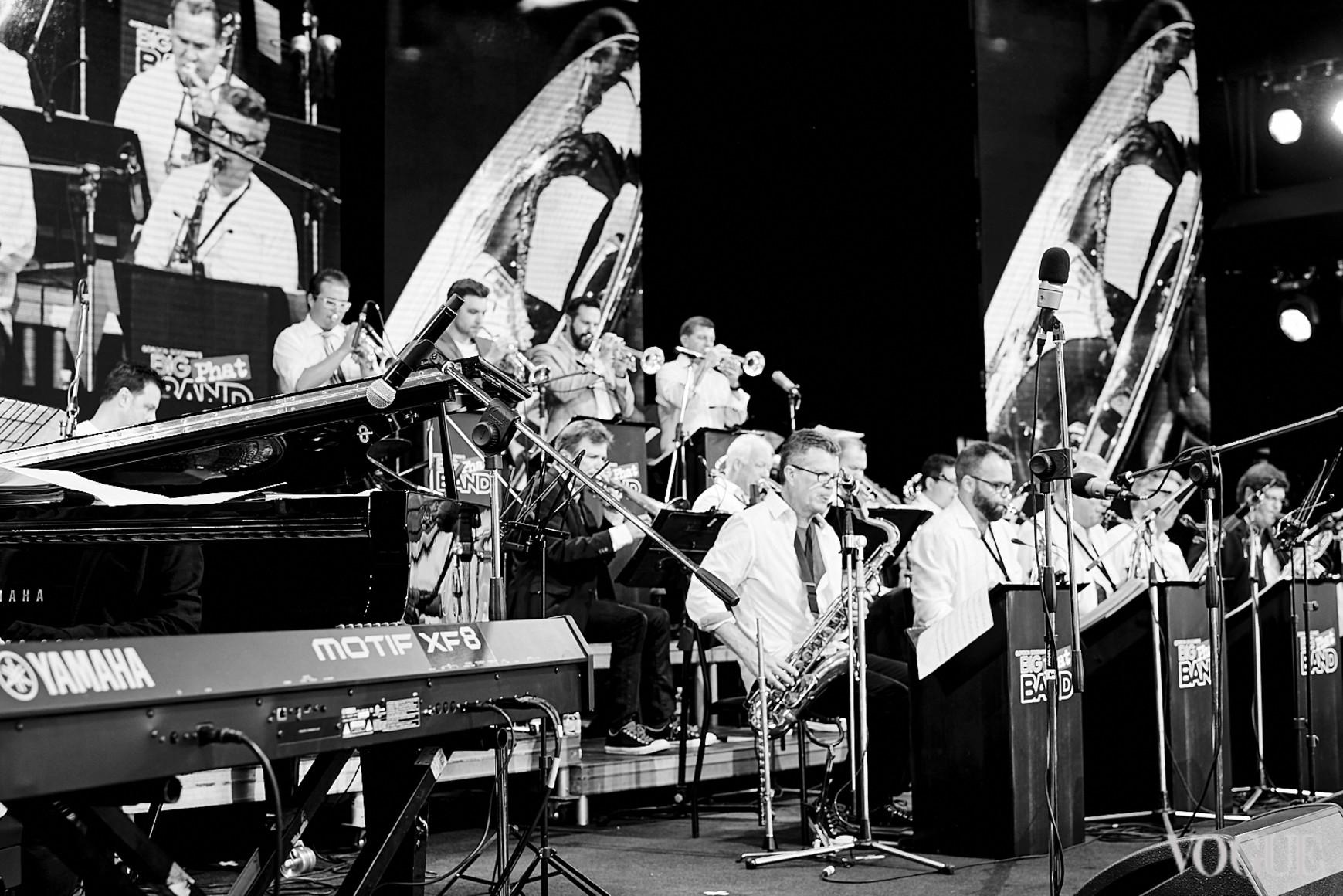 Выступление Gordon Goodwin's Big Phat Band