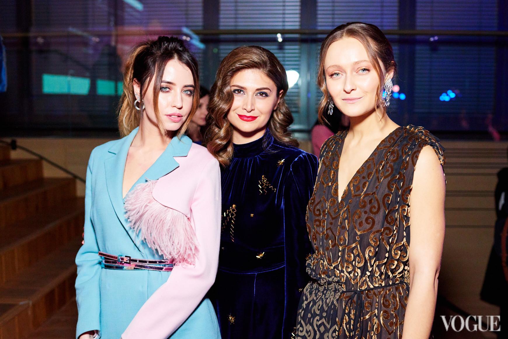 Надежда Дорофеева, Нина Васадзе и Дарья Шаповалова