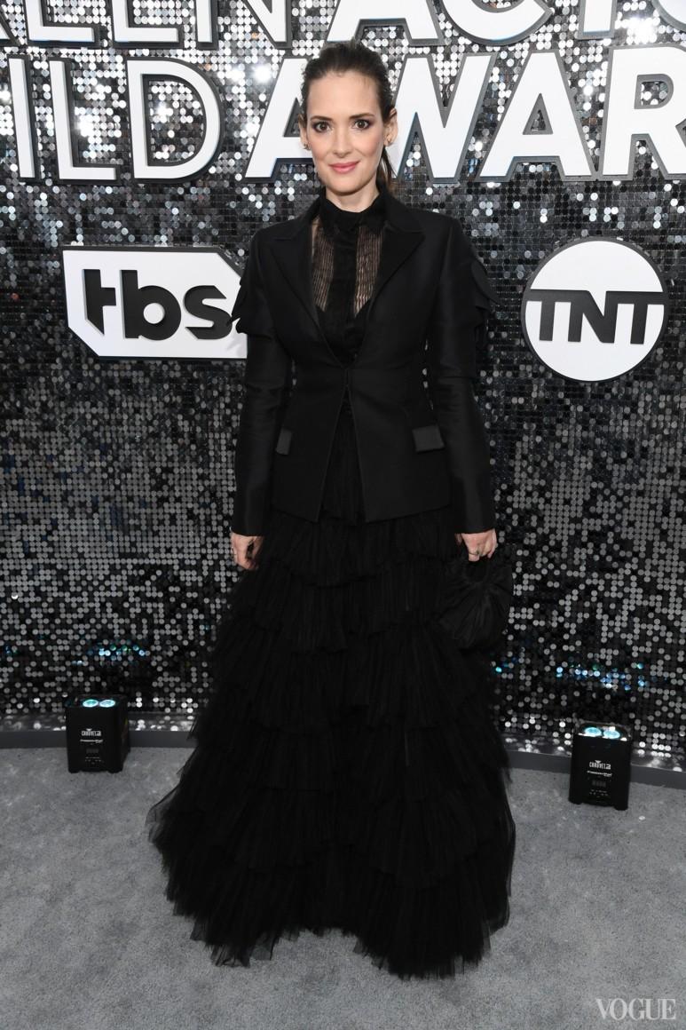Вайнона Райдер в Dior Haute Couture