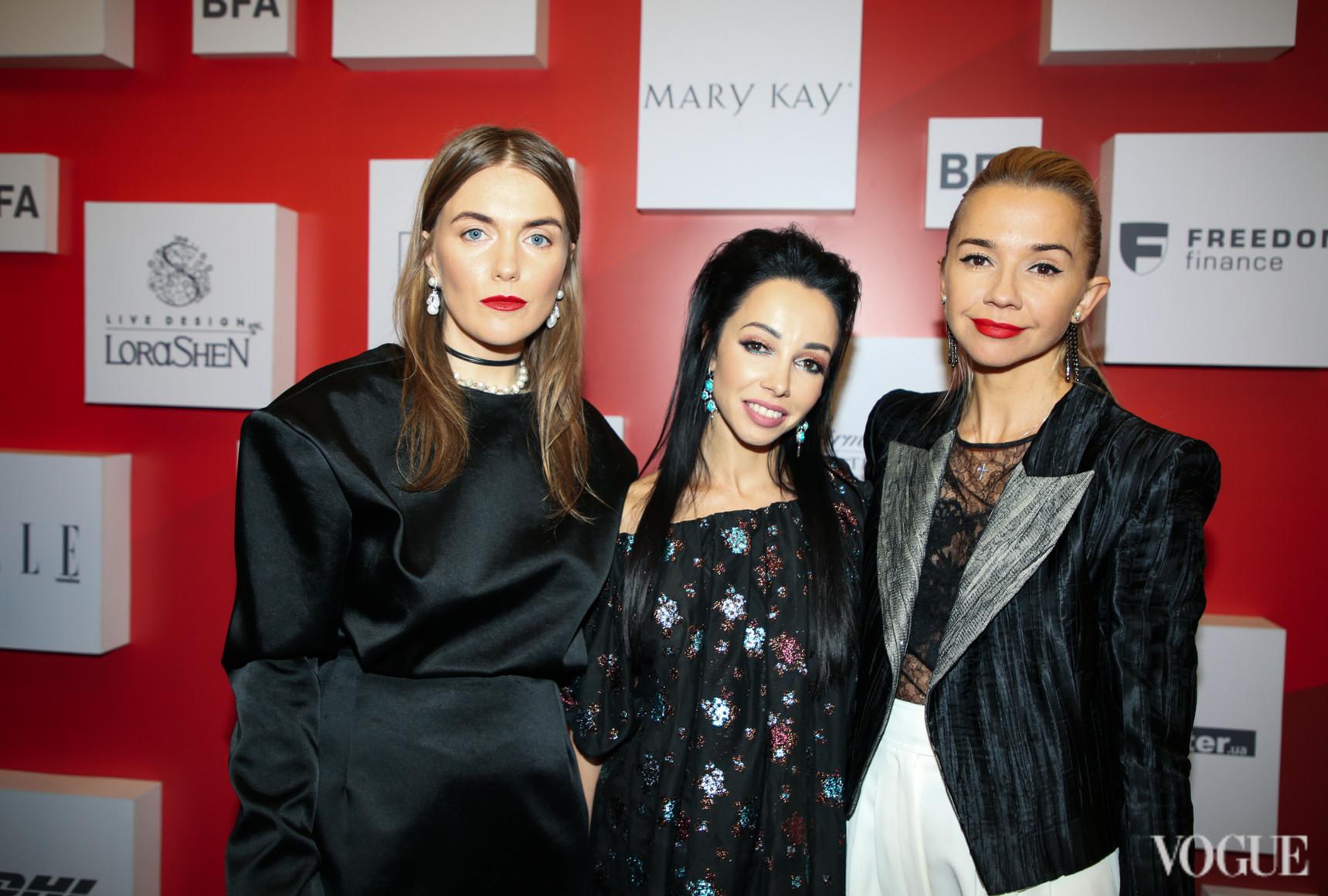 Лилия Пустовит, Екатерина Кухар и Ирина Турбаевская