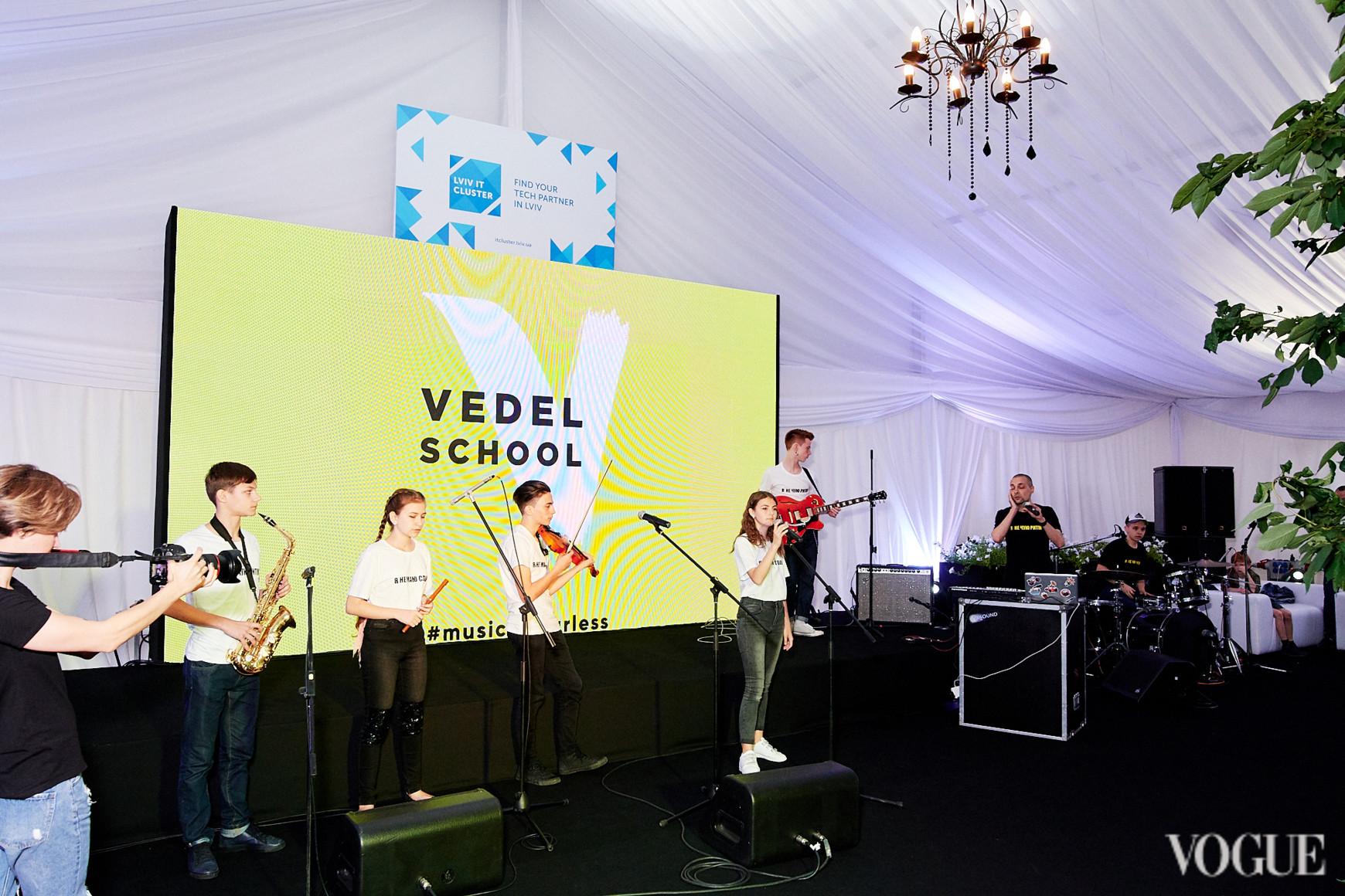 Виступ колективу Vedel Kids