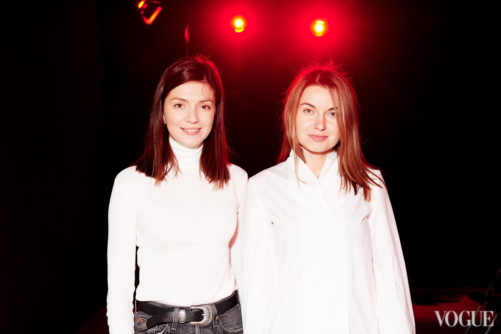 Юлия Полищук и Елена Добрынская