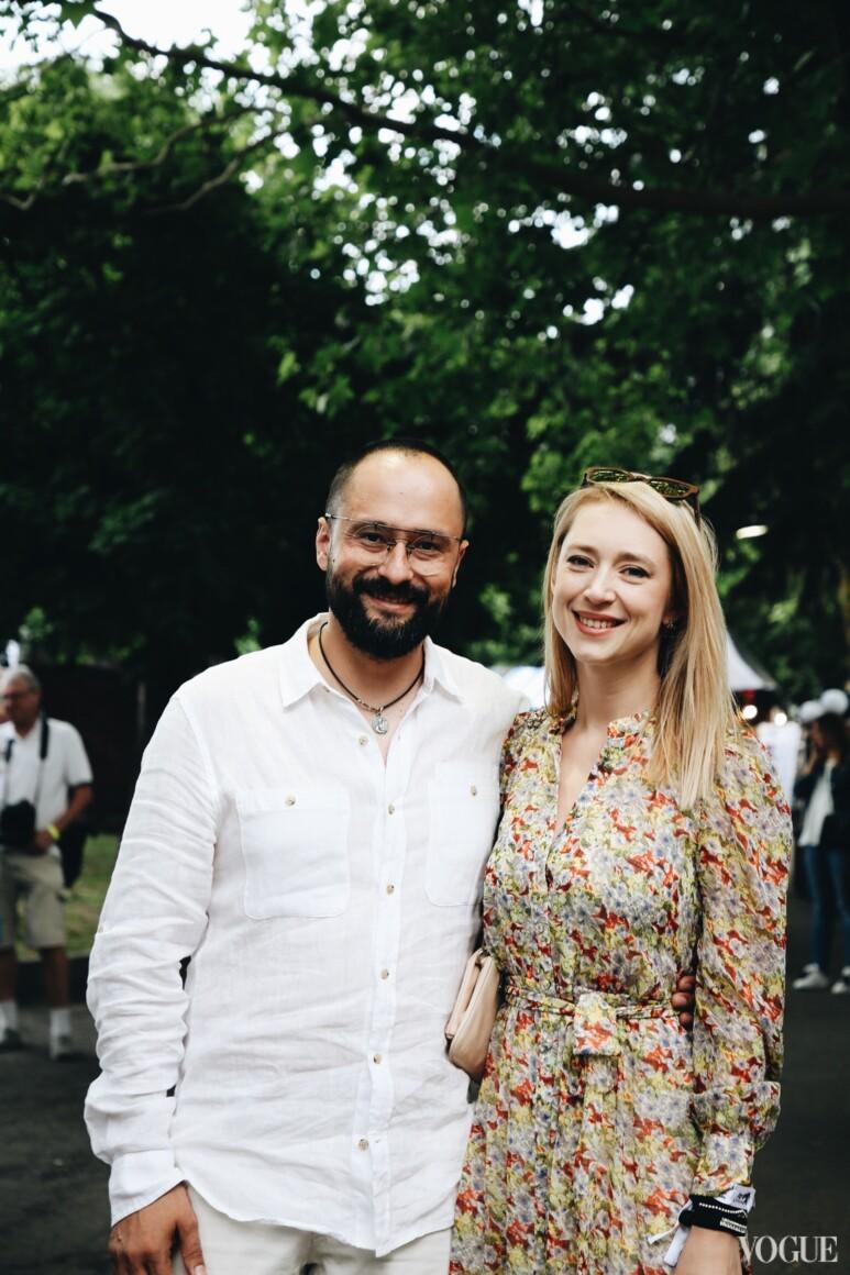 Евгений Гусовский и Мария Гриффин