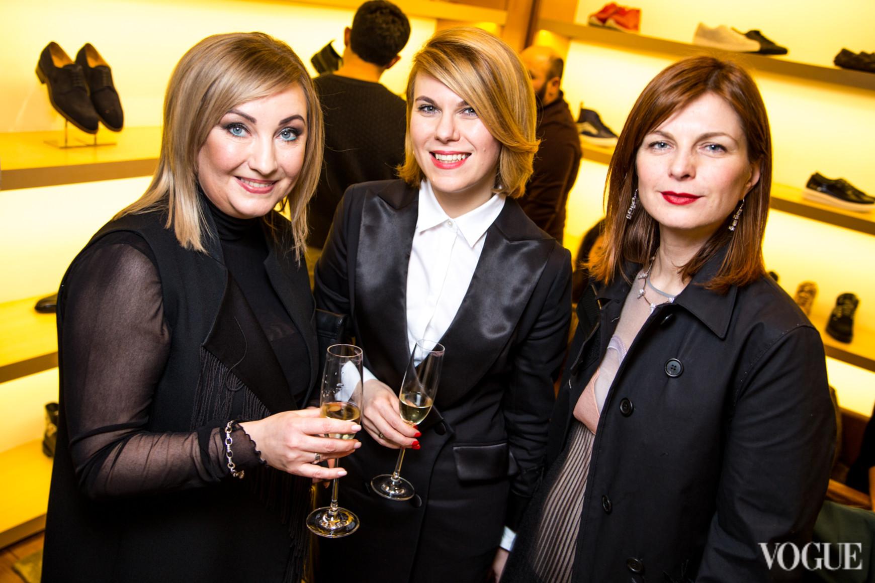 Елена Чернова, Наталья Листопад и Катерина Кулик