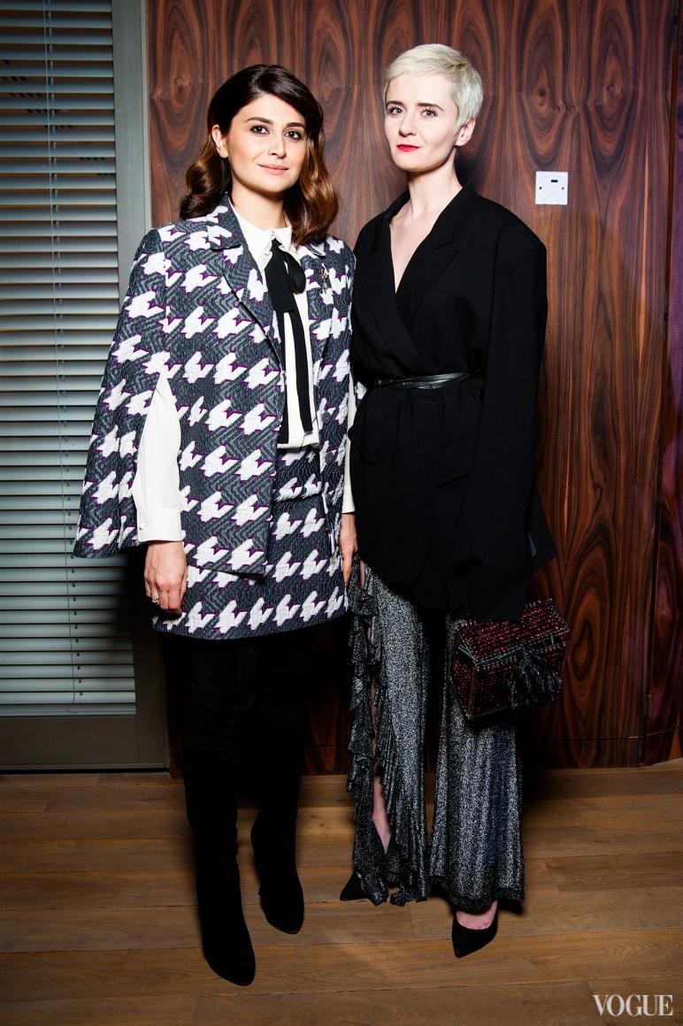 Нина Васадзе и Ольга Януль